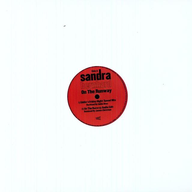 Sandra Bernhard ON THE RUNWAY Vinyl Record