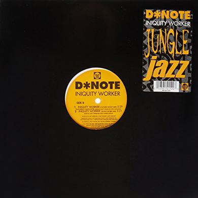 Note D INIQUITY WORKER Vinyl Record