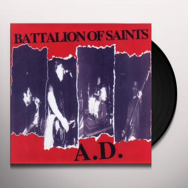 Battalion Of Saints HELL'S AROUND THE NEXT CORNER Vinyl Record