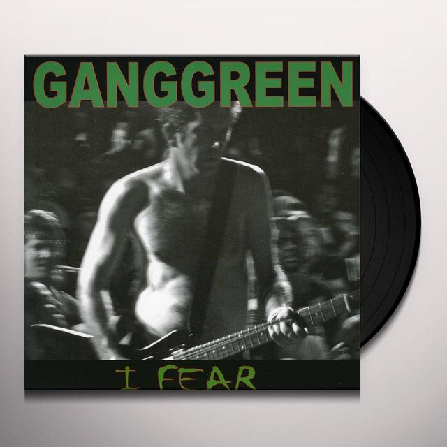 Gang Green FEAR / THE OTHER PLACE Vinyl Record