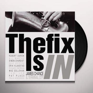 James Chance FIX IS IN Vinyl Record