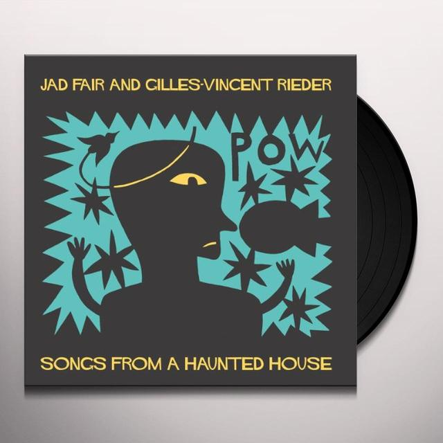 Jad Fair SONGS FROM A HAUNTED HOUSE Vinyl Record