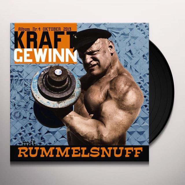 Rummelsnuff KRAFTGEWINN (GER) Vinyl Record