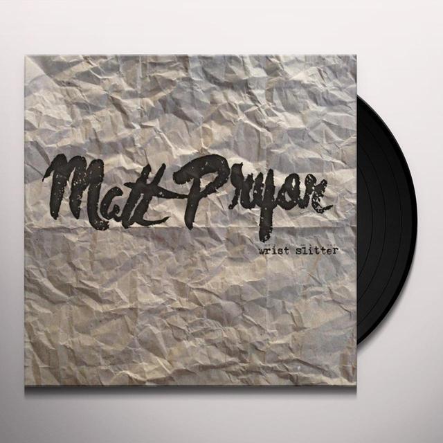 Matt Pryor WRIST SLITTER Vinyl Record