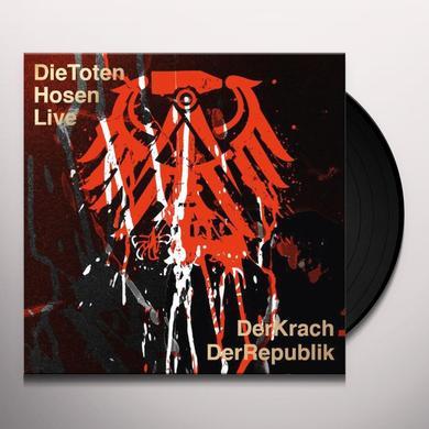 Die Toten Hosen LIVE:DER KRACH DER REPUBLIK (GER) Vinyl Record