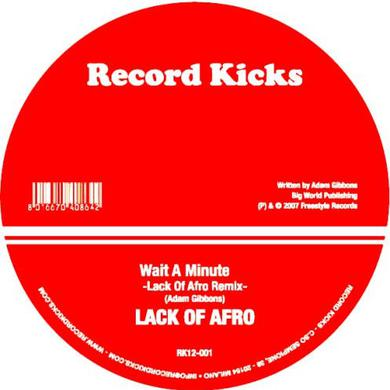 Eddie Roberts GEORGIO'S BROTHER (LACK OF AFRO REMIX) Vinyl Record