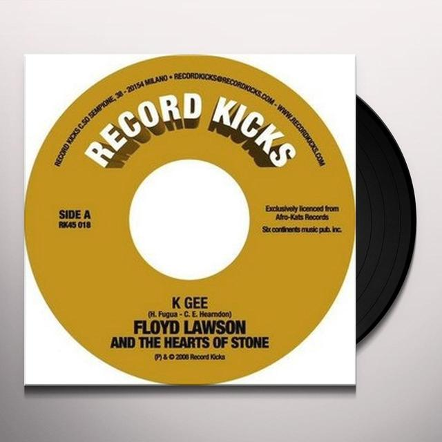 Floyd Lawson & The Hearts Of Stone K GEE Vinyl Record
