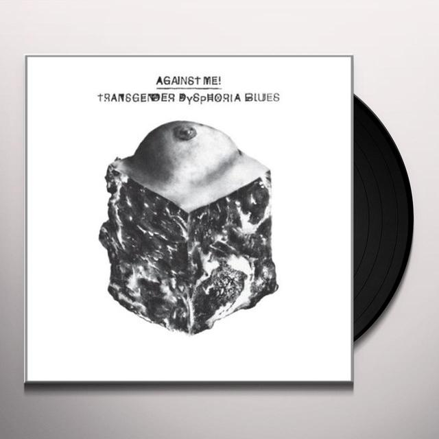 Against Me TRANSGENDER DYSPHORIA BLUES Vinyl Record - UK Release