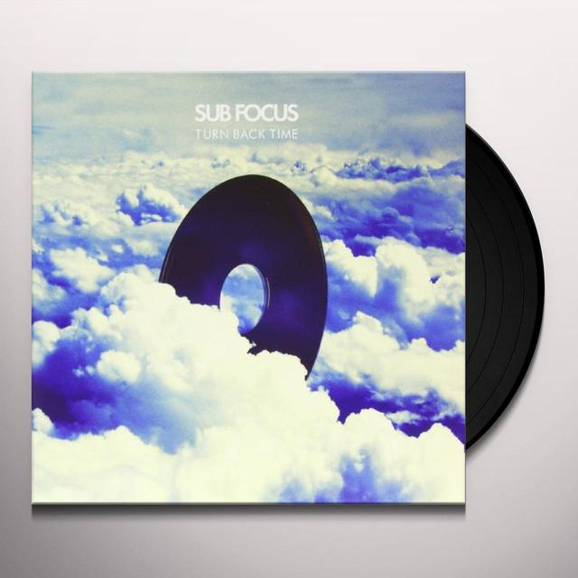 Sub Focus TURN BACK TIME Vinyl Record - UK Release