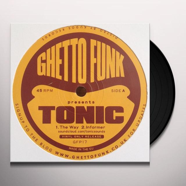Tonic GHETTO FUNK PRESENTS Vinyl Record