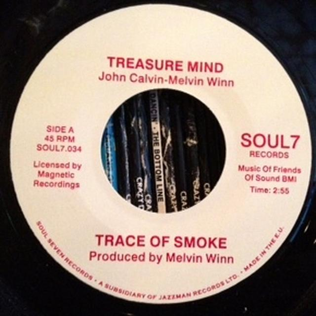 Trace Of Smoke TREASURE MIND/U.R Vinyl Record - UK Release