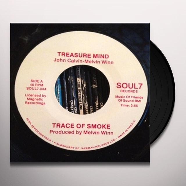 Trace Of Smoke TREASURE MIND/U.R Vinyl Record - UK Release