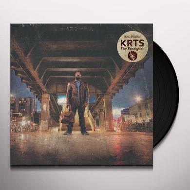Krts FOREIGNER Vinyl Record - UK Release