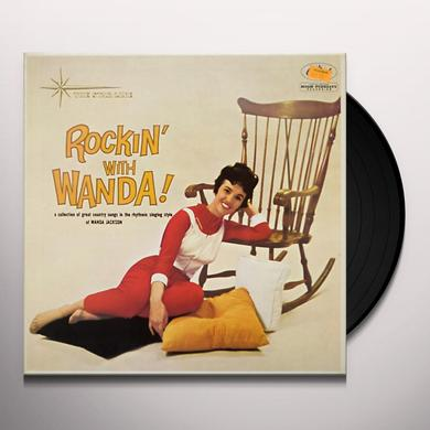 Wanda Jackson ROCKIN' WITH Vinyl Record