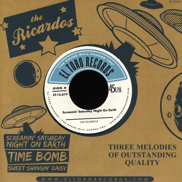 Ricardos SCREAMIN' SATURDAY NIGHT ON EARTH Vinyl Record