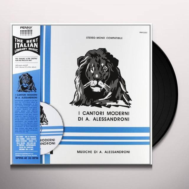 Alessandro Alessandroni I CANTORI MODERNI Vinyl Record
