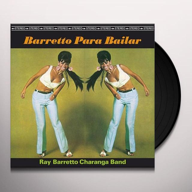 Ray Charanga Barretto BARRETTO PARA BAILAR Vinyl Record