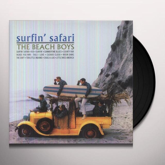 The Beach Boys SURFIN SAFARI Vinyl Record