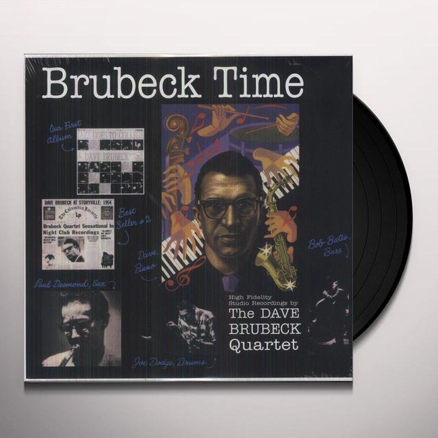 Dave Brubeck BRUBECK TIME Vinyl Record