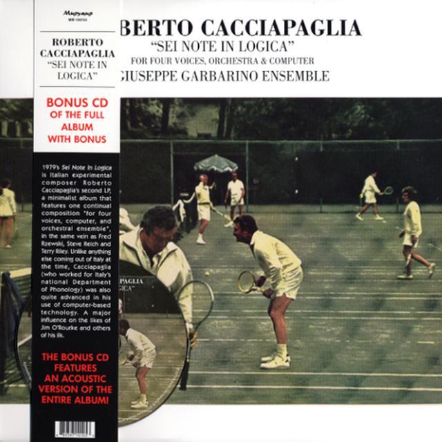 Roberto Cacciapaglia SEI NOTE IN LOGICA Vinyl Record - w/CD