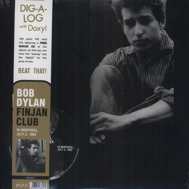 Bob Dylan FINJAN CLUB IN MONTREAL JULY 2 1962 Vinyl Record