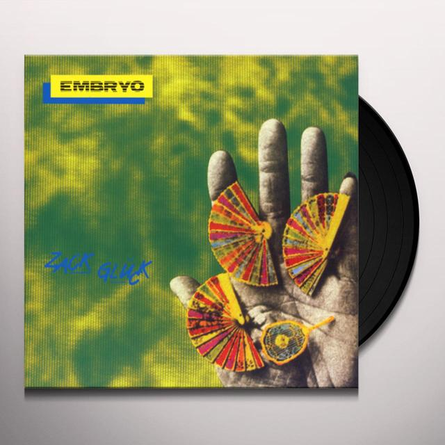 Embryo ZACK GLUCK Vinyl Record