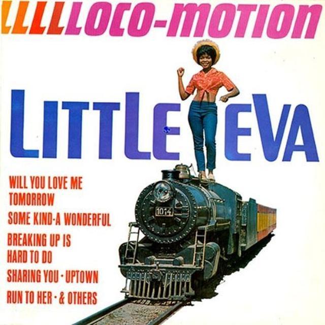 Eva Little L-L-L-L-LOCO MOTION Vinyl Record