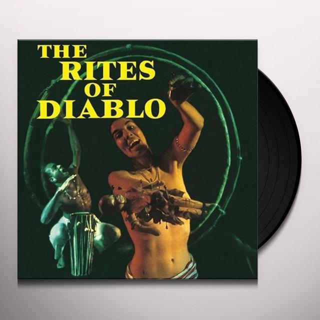 Johnny Richards RITES OF DIABLO Vinyl Record - UK Import