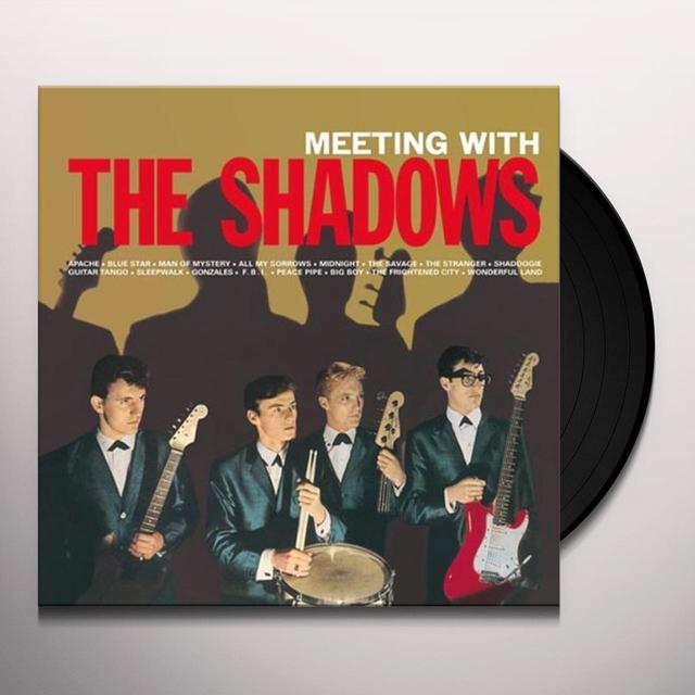 MEETING WITH THE SHADOWS Vinyl Record