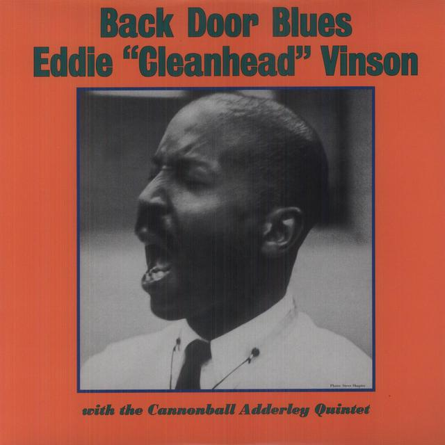 Eddie Vinson BACK DOOR BLUES WITH CANNONBALL ADDERLEY (Vinyl)
