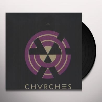 Chvrches LIES Vinyl Record