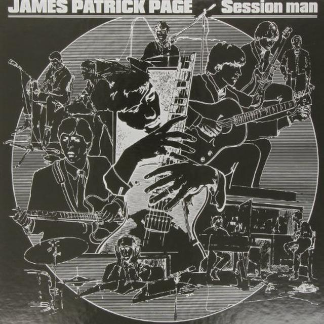 James Patrick Page SESSION MAN Vinyl Record
