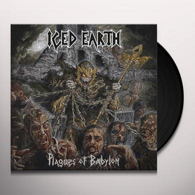 Iced Earth PLAGUES OF BABYLON Vinyl Record - Holland Release