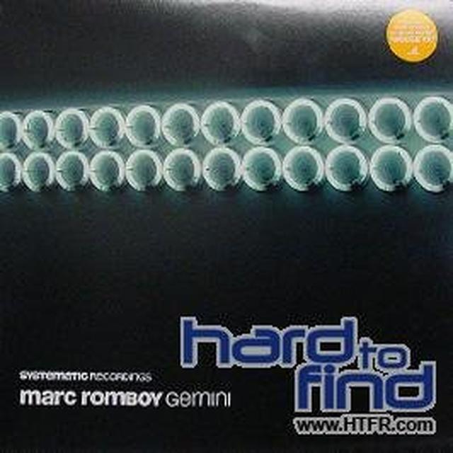Marc Romboy GEMINI Vinyl Record