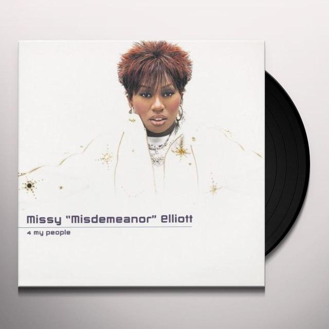 Missy Elliott 4 MY PEOPLE Vinyl Record