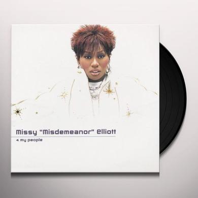 Missy Elliott 4 MY PEOPLE Vinyl Record