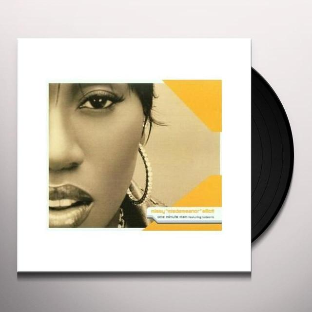 Missy Elliott ONE MINUTE MAN (GER) Vinyl Record