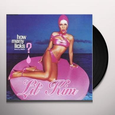 Lil Kim HOW MANY LICKS (GER) Vinyl Record