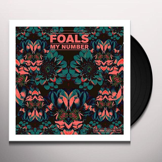 Foals MY NUMBER (GER) Vinyl Record