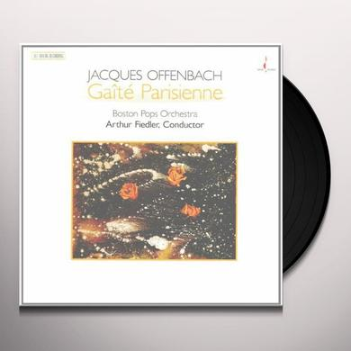 Arthur / Boston Pops Offenbach / Fiedler OFFENBACH: GAITE PARISIENNE Vinyl Record