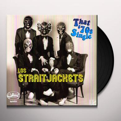 Los Straitjackets SURF 49/RAINY NIGHT IN GEORGIA Vinyl Record