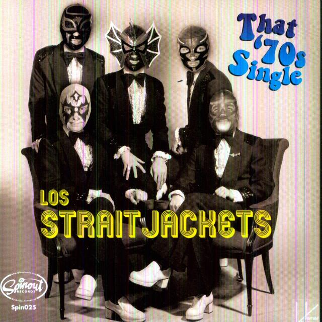 Los Straitjackets SURF 49/RAINY NIGHT IN GEORGIA Vinyl Record
