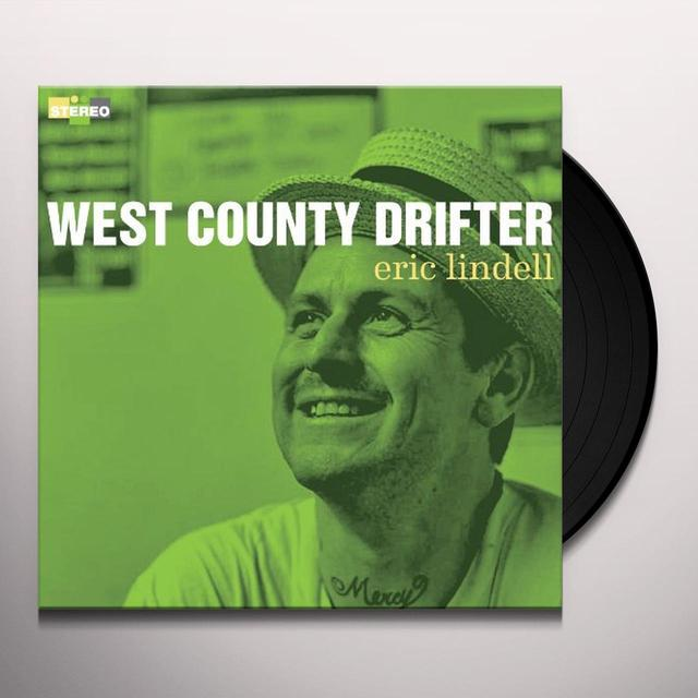 Eric Lindell WEST COUNTY DRIFTER Vinyl Record