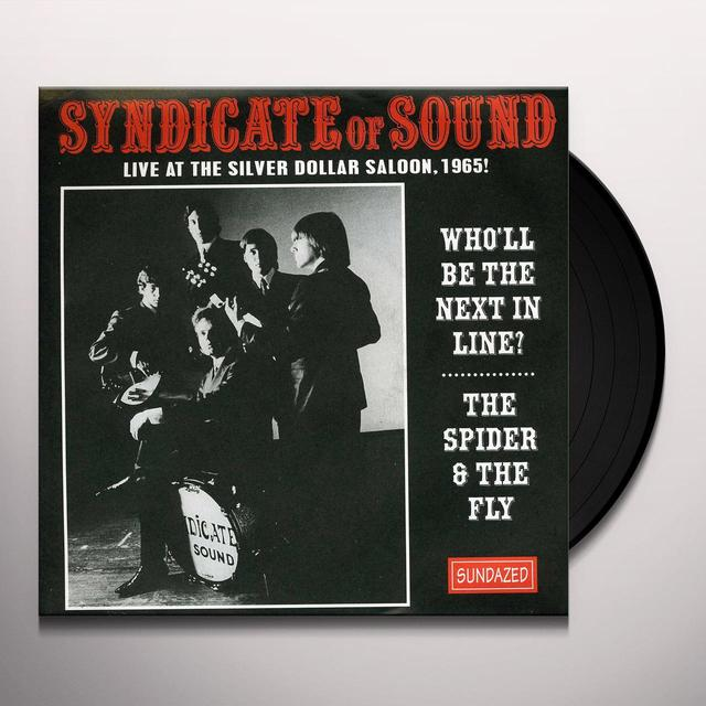 Syndicate Of Sound WHOLL BE THE NEXT IN LINE/THE SPIDER Vinyl Record