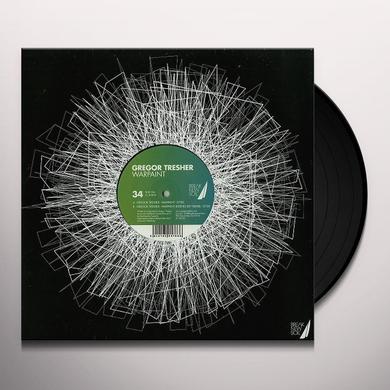 Gregor Tresher WARPAINT Vinyl Record