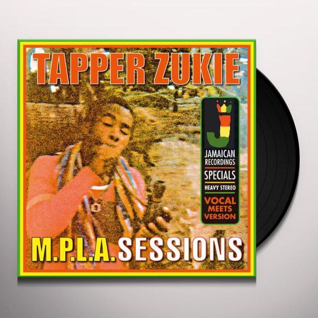 Tappa Zukie M.P.L.A. SESSIONS Vinyl Record