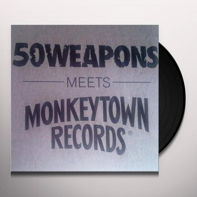 50 WEAPONS MEETS MONKEYTOWN RECORDS / VARIOUS Vinyl Record