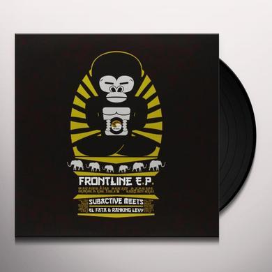 Subactive/El Fata/Ranking Levy FRONTLINE (EP) Vinyl Record