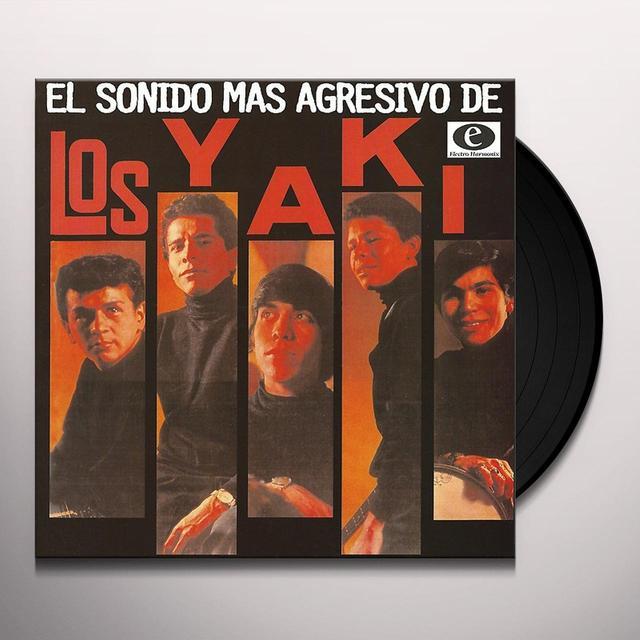 Los Yaki EL SONIDO MAS AGRESIVO DE Vinyl Record