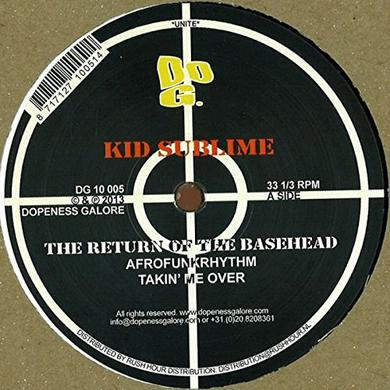 Kid Sublime RETURN OF THE BASEHEAD Vinyl Record